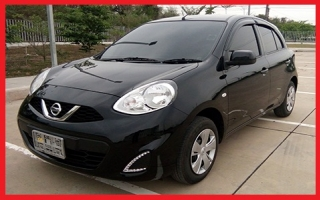 NISSAN MARCH BLACK